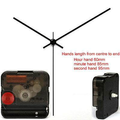 12888sa Snap In Type Wall Clock With Hands 95 Kits Sweep Quartz