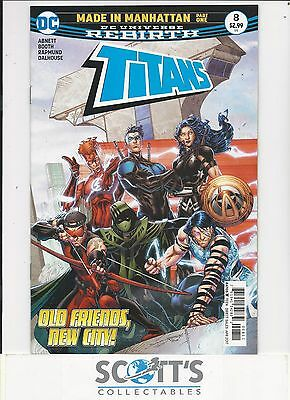 Titans   #8  New   (Bagged & Boarded) Freepost