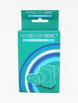 Aerosure Medic+ Replacement Head - New - Free Shipping