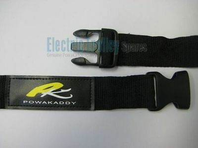 A New Genuine Powakaddy Upper Bag Strap - New Clip Version