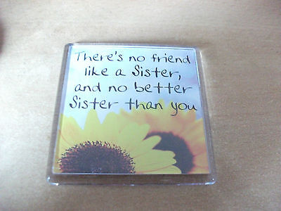 There's no friend like a Sister, and no better Sister than you fridge magnet