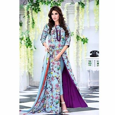 Bollywood Anarkali Salwar Kameez Pakistani Designer Indian Party Wear Suit New