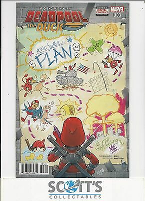 Deadpool The Duck   #3  New   (Bagged & Boarded) Freepost