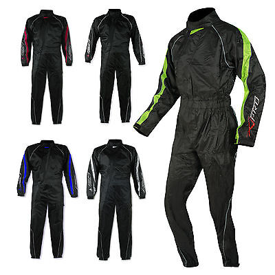 Motorcycle Motorbike Scooter One 1 pc Waterproof Full Body Over Rain Suit
