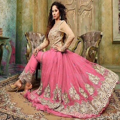 Bollywood Anarkali Wedding Salwar Kameez Pakistani Ethnic Indian Party Dress