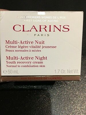 Clarins Multi Active Night - Normal To Combination Skin 50ml