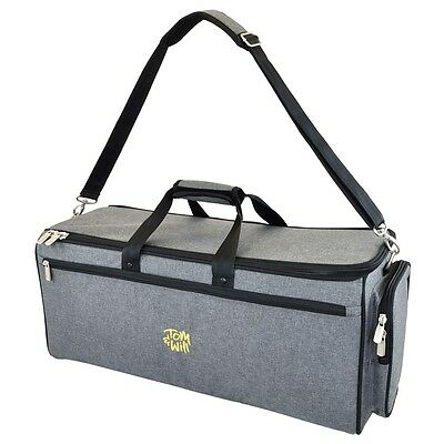 Tom and Will 26DTP Padded Double Trumpet Bag - Grey