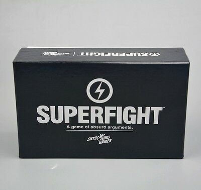 SUPERFIGHT cards game for party game super fight Playing Card Family Fun game