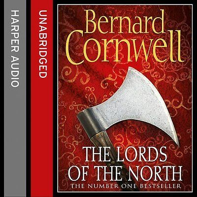 Lords of the North by Bernard Cornwell CD-Audio Book New
