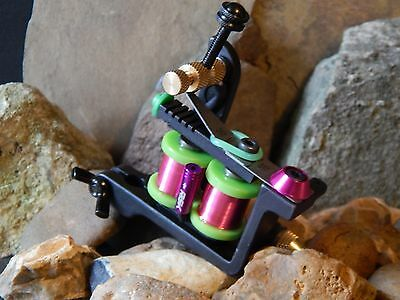 Custom Tattoo Machine Steel Liner -No3 -Used Spare Parts-Frame-Coils-Ink