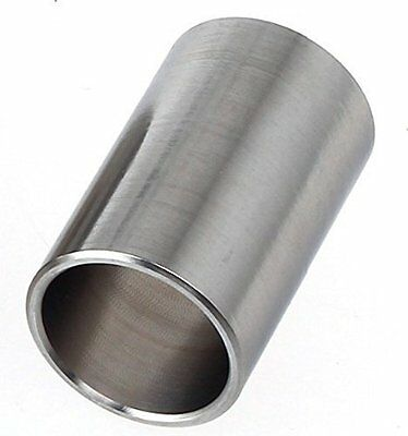 Alice Guitar Slide Large Chrome Steel Finger Knuckle Slider 40mm x 25mm Short