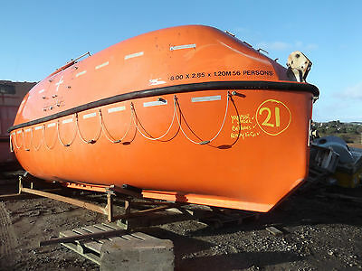 LIFEBOAT LIVABOARD,8M,NICE ONE,HUGE INSIDE,BOAT No(21).FREE DELIVERY.