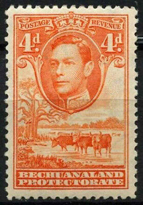 Bechuanaland Protectorate 1938-52 SG#123, 4d Orange KGVI MH #D43236