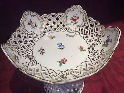 Fischer Emil of Budapest Cake/Sweet Dish on stand. Condition Good