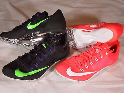 New Nike Zoom Superfly R4 Sprint Track and Field Spikes Red Black Chrome 526626