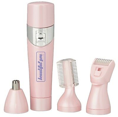 Beautiful You Lady Shaver Lightweight Portable Compact Precision Shaving