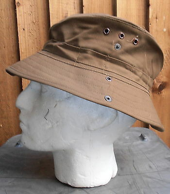 South Africa Nutria Brown Boonie / Bush Hat- Size 60 - New