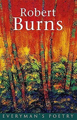Burns: Everyman's Poetry by Robert Burns New Paperback Book