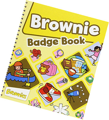The Brownie Guide Badge Book - P&p