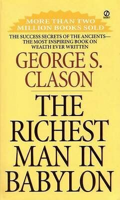 Richest Man In Babylon by George S. Clason New Paperback Book
