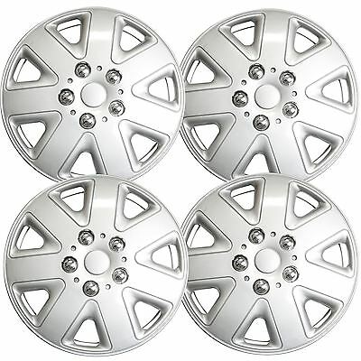 "Set of 4 Wheel Trims / Hub Caps 13"" Covers fits Ford Fiesta KA (Blizzard)"