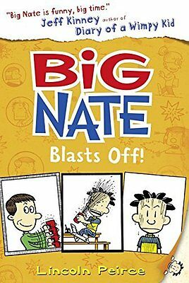 Big Nate Blasts Off by Lincoln Peirce New Paperback Book