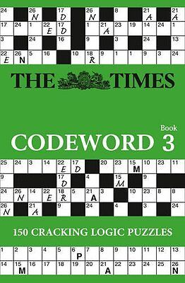 Times Codeword 3 by The Times Mind Games Paperback New  Book