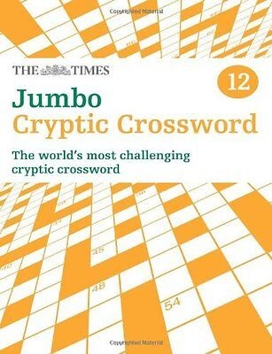 Times Jumbo Cryptic Crossword by The Times Mind Games Paperback New  Book