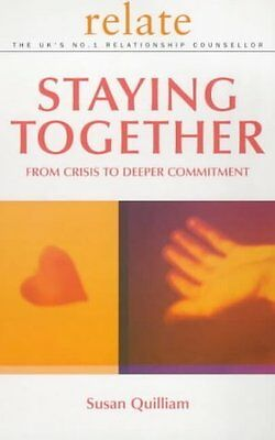 Relate Guide To Staying Together by Quilliam  Susan Paperback New  Book