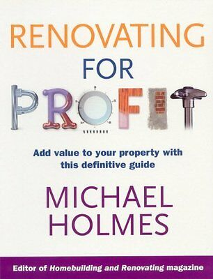 Renovating for Profit by Holmes  Michael Paperback New  Book