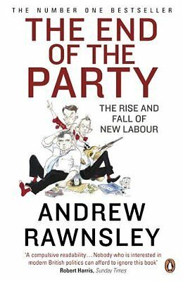 End of the Party by Rawnsley  Andrew Paperback New  Book