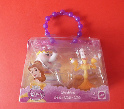 Disney Character Pack Belle * Beauty & The Beast Mrs Potts & Lumiere Figures