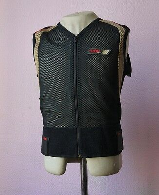 Knox Back protector:Gilet:Full zip:Style with protection.Hardly used.Size Medium