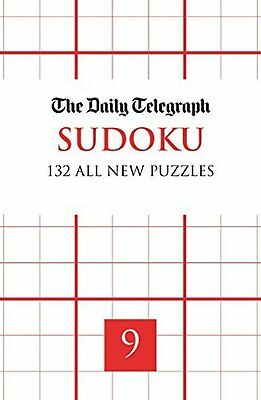 Daily Telegraph Sudoku 9 by Telegraph Group Limited Paperback New  Book
