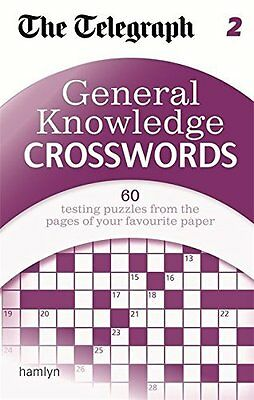 General Knowledge Crosswords by The Daily Telegraph New Paperback Book