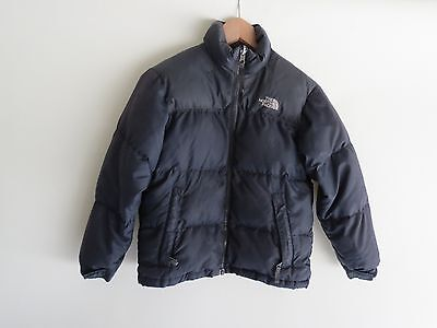 Boys North Face 600 blue down jacket puffer S