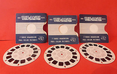 Vintage The Coronation Of Queen Elizabeth Ii * X3 View Master Reels * 1953