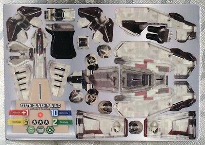 Star Wars Wizkids Pocketmodel 127th Gunship Wing Republic LAAT Gunship - 09