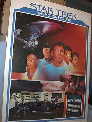 """""""Star Trek The Motion Picture"""" Poster - Brought to You by The Coca-Cola Company"""