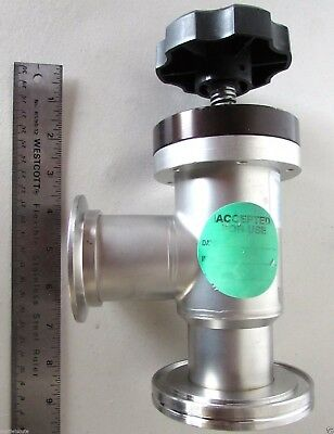Nor-Cal Products ESV-200 Ultra High Vacuum UHV Valve Stainless Steel Flange
