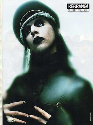 Marilyn Manson  /  Alexisonfire                Poster    / Picture  (ML66)