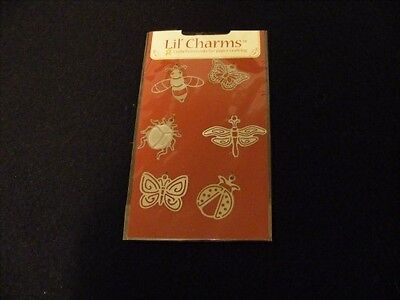 American Traditional Designs LIL CHARMS metal charms Bugs
