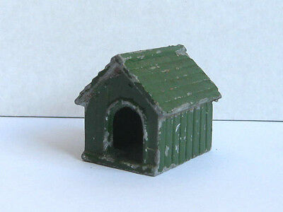 F.g. Taylor & Sons Vintage Dog Kennel Diecast / Lead Toy Accessory.....