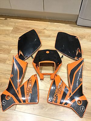 Ktm Exc 300 Panels Front And Rear From A 2002 Bike