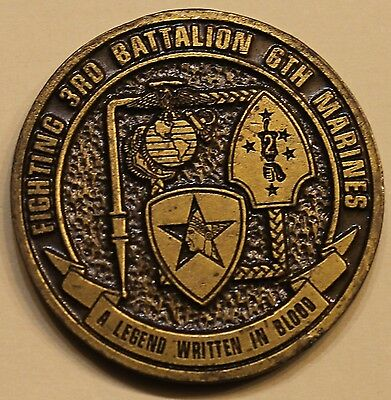 3rd Battalion 5th Marines Challenge Coin