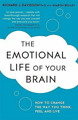 Emotional Life of Your Brain by Richard Davidson New Paperback Book