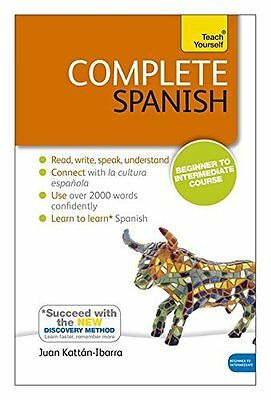 Complete Spanish (Learn Spanish with Te by Juan Kattan Ibarra New Paperback Book