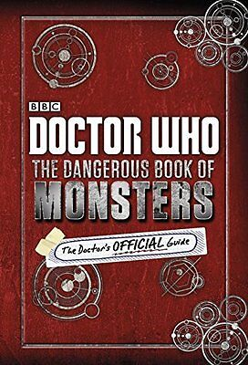 Doctor Who: The Dangerous Book of Monsters Hardback New  Book