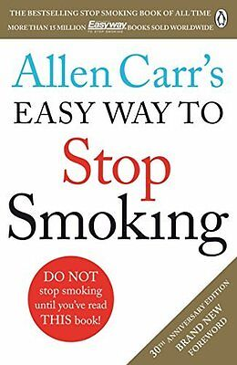 Allen Carr's Easy Way to Stop Smoking by Allen Carr New Paperback Book