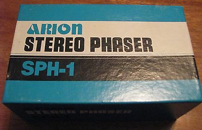Vintage Arion SPH-1 Stereo Phaser Analog Guitar Effects Pedal